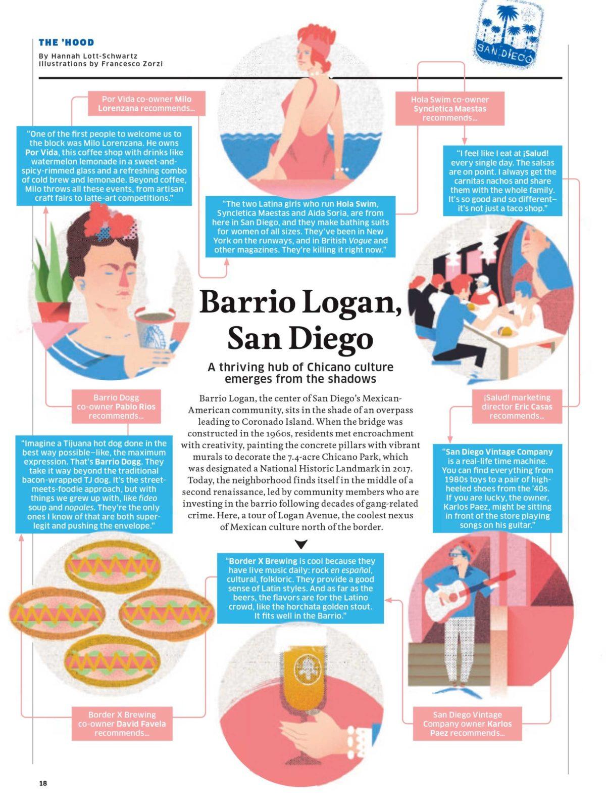 Hemisphere Magazine Article
